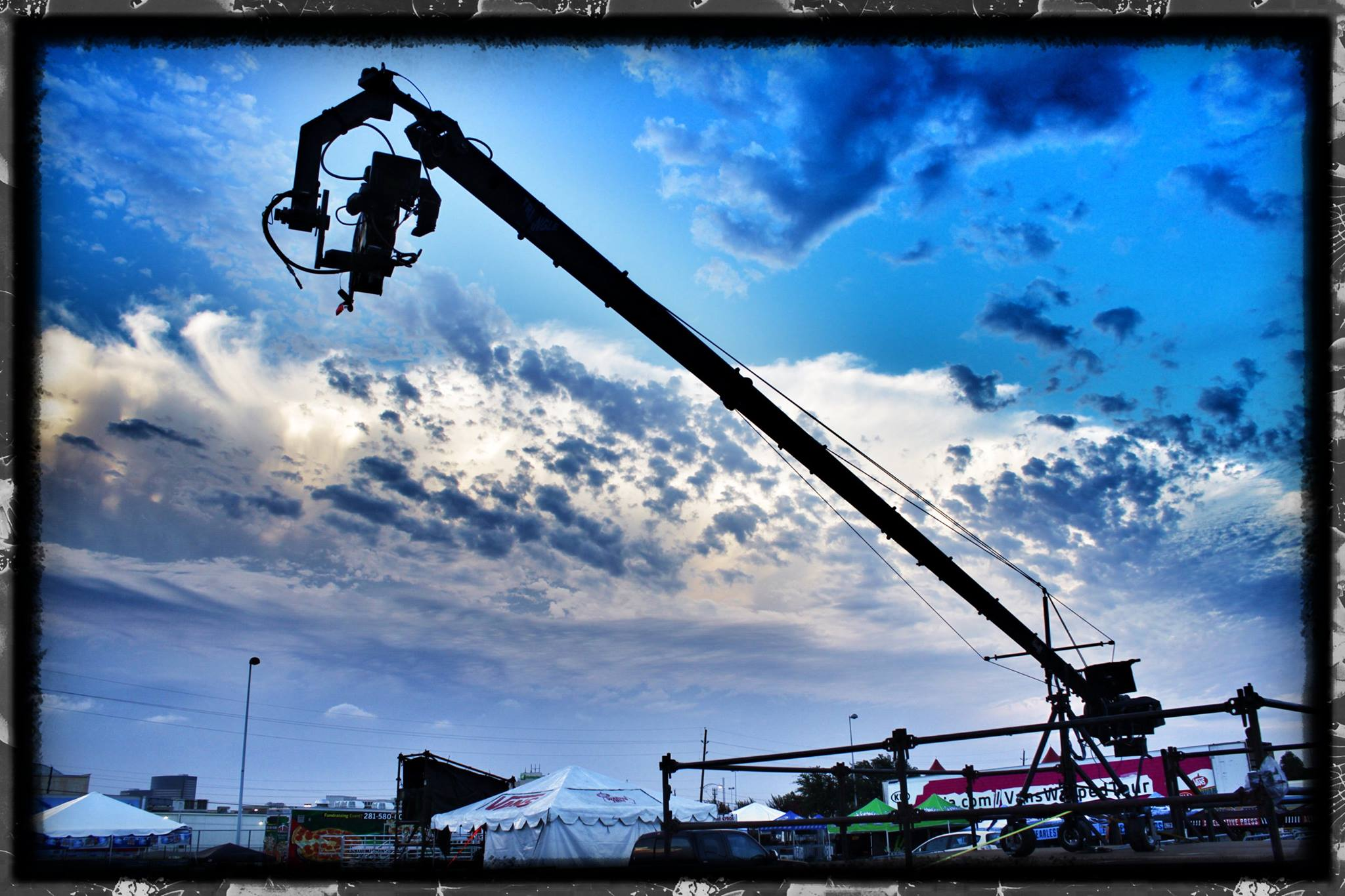 jib operator - jimmy jib at concert tour