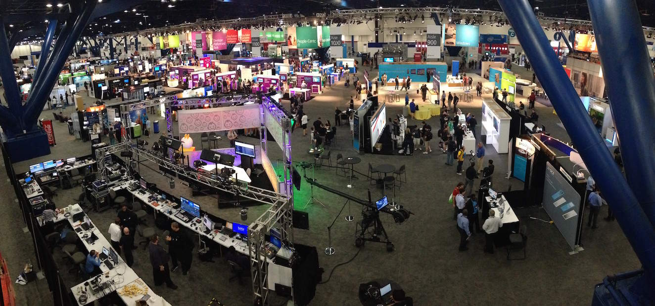 Microsoft Tech Ed Convention Floor