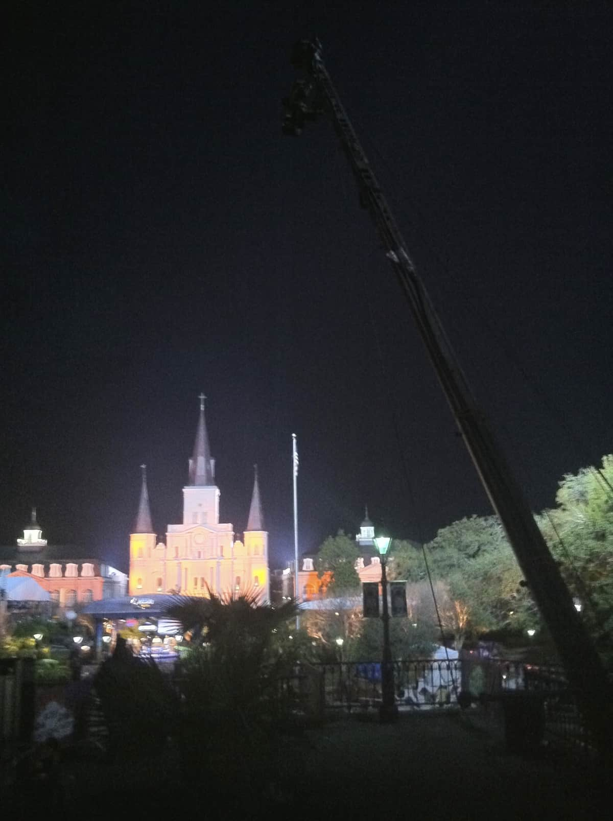 Jib - St. Louis Cathedral