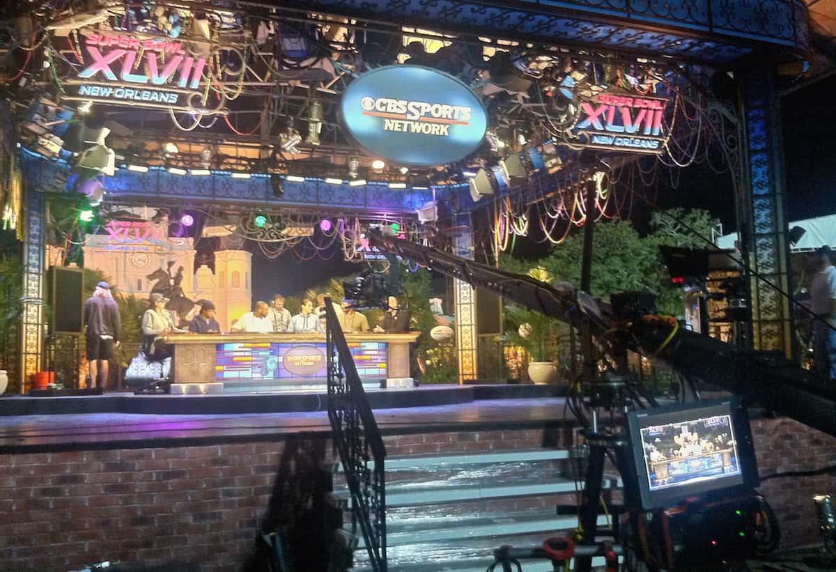 CBS Studio Floor