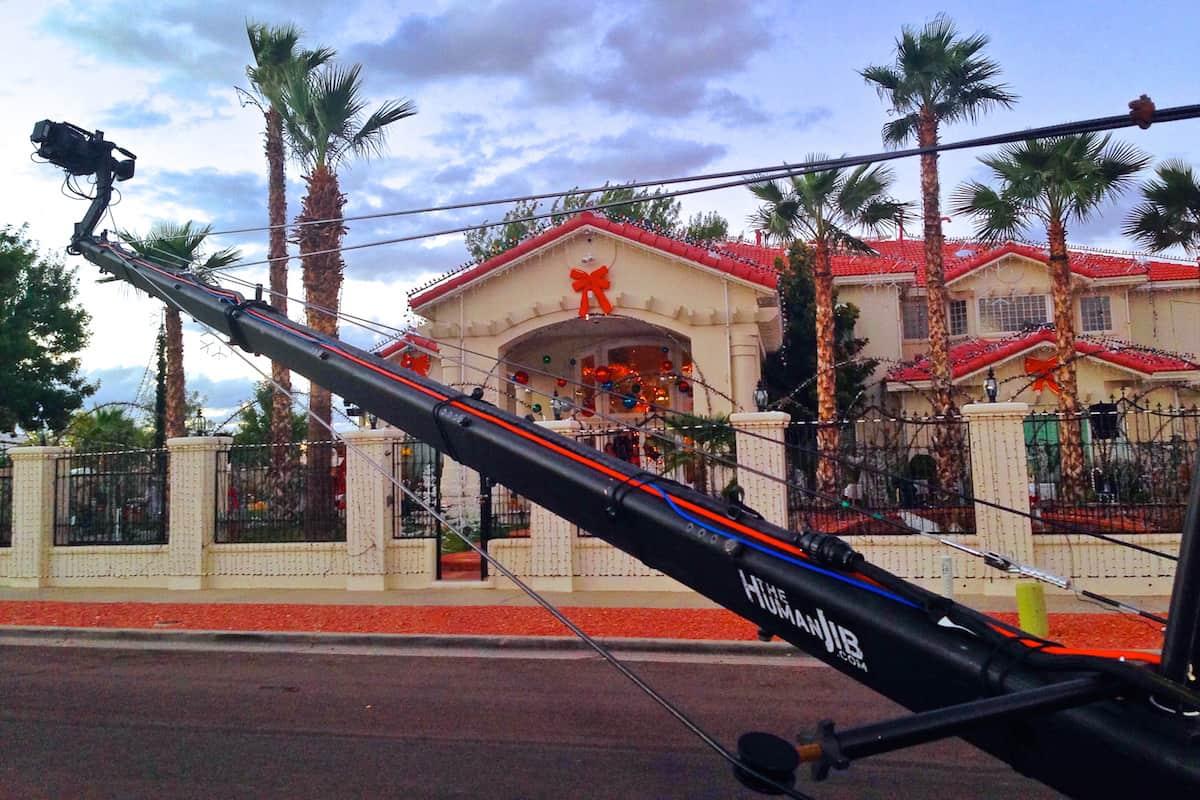 Great Christmas Light Fight - Jib El Paso TX