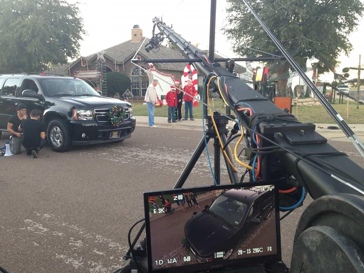 Great Christmas Light Fight - Jib Andrews TX