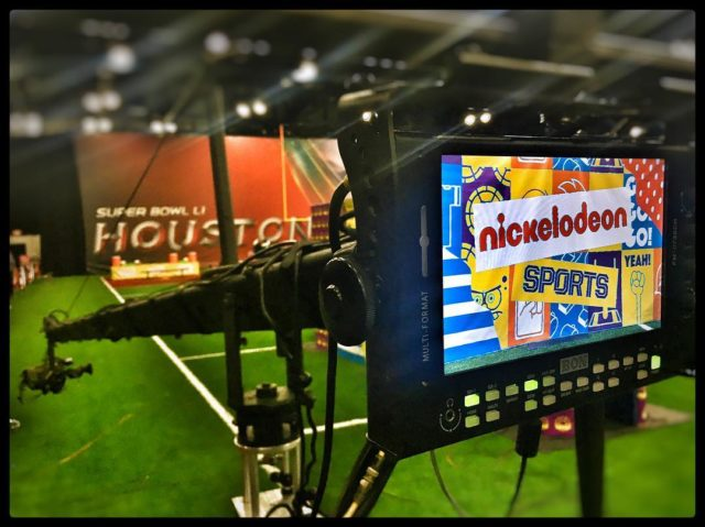 Supporting our active youth at Nickelodeon's Superstar Slime Showdown with our 18ft Jimmy #Jib. - #jimmyjib #cameracrane #jiboperator #setlife