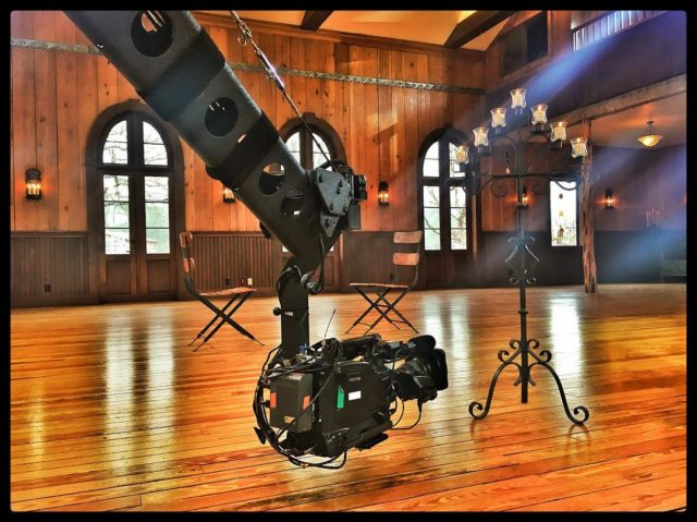 Shooting a reality show on ABC - #jimmyjib #jib #jiboperator #cameracrane #setlife